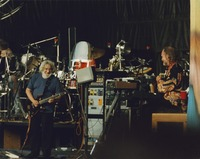 "Grateful Dead: Jerry Garcia and Vince Welnick performing ""Here Comes Sunshine"""