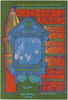 Jefferson Airplane, Grateful Dead, Big Brother and the Holding Company, Light show by Glenn McKay's Head Lights. Hollywood Bowl, September 15, 1967