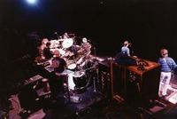 Grateful Dead: Mickey Hart, Bill Kreutzmann, Vince Welnick, Jerry Garcia, Bob Weir, Phil Lesh