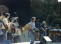 Grateful Dead: Phil Lesh, Bob Weir, Jerry Garcia, and Brent Mydland