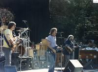 Grateful Dead: Phil Lesh, Bob Weir, Jerry Garcia, and Brent Mydland