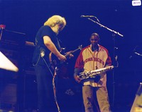 Jerry Garcia and Branford Marsalis