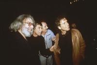 Grateful Dead, ca. 1988: Jerry Garcia, Mickey Hart, Bill Kreutzmann, Bob Weir, Brent Mydland