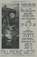 Sha-Na-Na, Pacific Gas & Electric, Dan Hicks & His Hot Licks - Lights by Abercrombie / Traffic, Leon Russell - Lights by Brotherhood of Light - Bill Graham Presents in San Francisco - Fillmore West - June 25-28, June 30-July 2, 1970