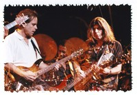 Other Ones: Bob Weir, Alphonso Johnson, and Mark Karan: multiple exposure