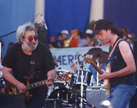 Jerry Garcia and Steve Kimock