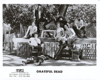 "Grateful Dead ""Live Dead"" publicity photo for Warner Bros. Records: Bob Weir, Bill Kreutzmann, Tom Constanten, Phil Lesh, Jerry Garcia, Mickey Hart, Ron ""Pigpen"" McKernan"