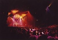 Grateful Dead at the Richfield Coliseum: distant view of the stage