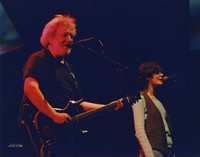 "Jerry Garcia and Edie Brickell performing ""Goin' Down the Road Feeling Bad"""