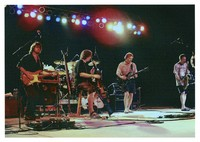 RatDog: Mark Karan, Rob Wasserman, Bob Weir, and Kenny Brooks