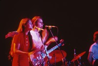 Grateful Dead: Donna Godchaux and Bob Weir