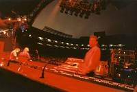 Grateful Dead at Madison Square Garden: view from the stage