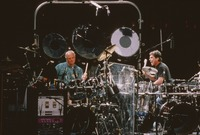 Grateful Dead, ca. 1994: Bill Kreutzmann and Mickey Hart