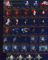 Grateful Dead at The Palace: contact sheet with 33 images