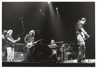 Grateful Dead: Jerry Garcia, Spencer Davis, Brent Mydland, and Bob Weir
