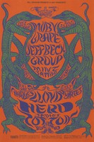 Moby Grape, Jeff Beck Group, Mint Tattoo, Charles Lloyd Quartet, The Herd, James Cotton Blues Band - Lights by Holy See - Bill Graham Presents in San Francisco - July 23-28 [1968] - Fillmore Carousel