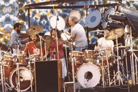 "Grateful Dead: Billy Cobham, Airto Moreira, Flora Purim, Bill Kreutzmann, and Mickey Hart performing ""Drumz"""
