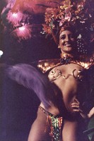 Grateful Dead Mardi Gras: performer in costume