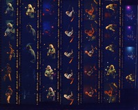 Grateful Dead at the Omni: contact sheet with 34 images