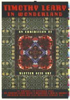 Timothy Leary In Wonderland: An Exhibition of Blotter Acid Art, 10 August - 10 October 1995 - ArtRock Gallery