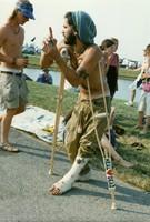 Deadhead on crutches
