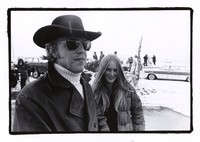 John Perry Barlow and his girlfriend, Tara Anderson, at Pinedale, Wyoming, October 1971