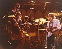 Grateful Dead, ca. 1981: Phil Lesh, Mickey Hart, and Bob Weir