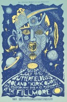 Butterfield Blues Band, Roland Kirk Quartet, New Salvation Army Band, Mt. Rushmore - Bill Graham Presents in San Francisco - July 11-16 [1967] - Fillmore