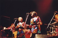Jerry Garcia Band: Melvin Seals, Gloria Jones, and Jaclyn LaBranch