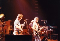Grateful Dead, ca. 1985: Phil Lesh, Bob Weir, Jerry Garcia, and Brent Mydland