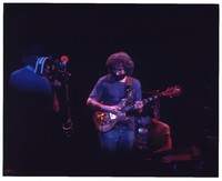 Jerry Garcia, Ned Lagin, and a cameraman