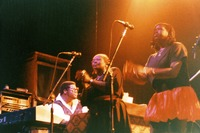 Jerry Garcia Band: Melvin Seals, Jaclyn LaBranch, and Gloria Jones
