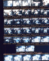 Grateful Dead, Bob Dylan and Tony Garnier at Robert F. Kennedy Stadium: contact sheet with 32 images