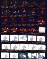 Grateful Dead at the Seattle Center Memorial Stadium, Chuck Berry at Portland Meadows: contact sheet with 35 images