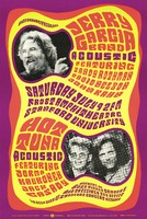 Jerry Garcia Band - acoustic - featuring Sandy Rothman, David Nelson, John Kahn. Hot Tuna - acoustic - featuring Jorma Kaukonen, Jack Casady. July 9, 1988, Frost Amphitheatre, Stanford University