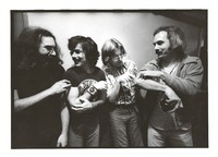 Grateful Dead: Jerry Garcia, Mickey Hart, Phil Lesh, and Bill Kreutzmann