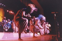 Babatunde Olatunji's Drums of Passion at an unidentified venue, ca. 1987
