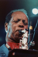 Ornette Coleman performing with the Grateful Dead