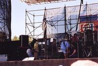 Grateful Dead: Phil Lesh, Bob Weir, Bill Kreutzmann, Mickey Hart, with Steve Parish (?)