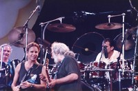 Grateful Dead: Bill Kreutzmann, Bob Weir, Jerry Garcia, and Mickey Hart