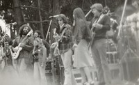 Grateful Dead, ca. 1975: Jerry Garcia, Bob Weir, Donna Jean Godchaux, Phil Lesh, and Bill Kreutzmann