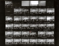 Grateful Dead at the Golden Hall: contact sheet with 30 images