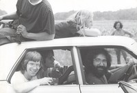 Phil Lesh, Bob Weir, Jerry Garcia and unidentified others