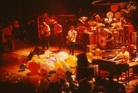 Grateful Dead: unidentified musician, Phil Lesh, Bob Weir, Bill Kreutzmann, Jerry Garcia, Mickey Hart, Brent Mydland