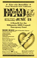 Grateful Dead - Summer Solstice, June 21, 1989. Live via Satellite from Mountain View, California. A Benefit for the Willamette AIDS Council Emergency Fund
