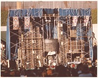 Grateful Dead with the Wall of Sound: Jerry Garcia, Phil Lesh, Bob Weir, Bill Kreutzmann, Keith Godchaux