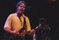 Bob Weir, with Kenny Brooks in the background