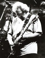 Grateful Dead, ca. 1992: Mickey Hart and Jerry Garcia
