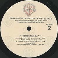Workingman's Dead [album cover]