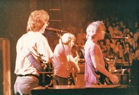 Grateful Dead, ca. 1985: Phil Lesh, Bob Weir, and Jerry Garcia